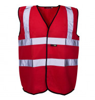Supertouch Hi Vis Coloured Vest