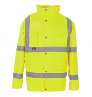 Supertouch Hi Vis Breathable Jacket