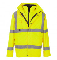 Supertouch Hi Vis Breathable 4 in 1 Parka
