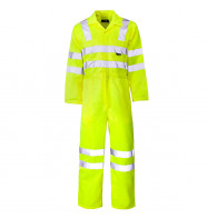 Supertouch Hi Vis Coverall
