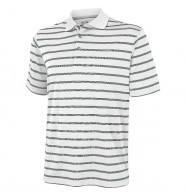 Adidas Textured Stripe Polo Shirt