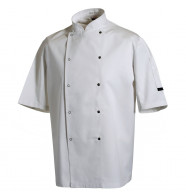 Denny's Chef Jacket Short Sleeve Press Stud