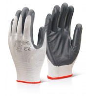 Click 2000 Nitrile Palm Coated Polyester Gloves