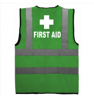 Supertouch Hi Vis First Aider Cross Vest
