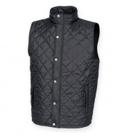 Front Row Diamond Quilt Gilet