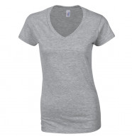 Gildan Softstyle™ Womens V-Neck T-Shirt