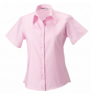 Russell Collection Women's Short Sleeve Ultimate Non-Iron Shirt