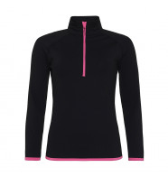 AWDis Girlie Cool 1/2 Zip Sweatshirt