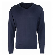 Premier V-Neck Knitted Sweater