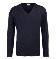 RTY V-Neck Arcylic Wool Sweater