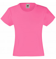 Fruit of the Loom Girls Valueweight Tee