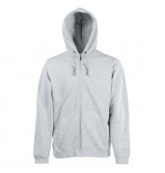 Fruit of the Loom Zip Hooded Sweat Jacket