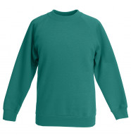 Fruit of the Loom Classic 80/20 Kids Raglan Sweat