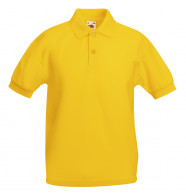 Fruit of the Loom Kids 65/35 Pique Polo Shirt