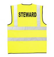 Supertouch Hi Vis Steward Vest